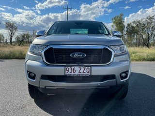 2020 Ford Ranger PX MkIII 2021.25MY XLT Aluminium 6 Speed Sports Automatic Double Cab Pick Up.