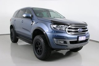 2019 Ford Everest UA II MY19 Trend (4WD 7 Seat) Blue 10 Speed Auto Seq Sportshift SUV.