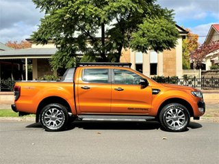 2018 Ford Ranger PX MkII 2018.00MY Wildtrak Double Cab Orange 6 Speed Sports Automatic Utility