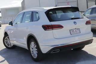 2020 Volkswagen Touareg CR MY21 170TDI Tiptronic 4MOTION Pure White 8 Speed Sports Automatic Wagon.
