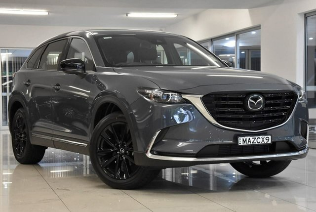 New Mazda CX-9 TC GT SP SKYACTIV-Drive i-ACTIV AWD Waitara, 2020 Mazda CX-9 TC GT SP SKYACTIV-Drive i-ACTIV AWD Grey 6 Speed Sports Automatic Wagon