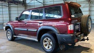 2004 Nissan Patrol GU IV MY05 ST Maroon 5 Speed Manual Wagon