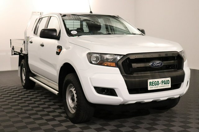 Used Ford Ranger PX MkII XL Acacia Ridge, 2017 Ford Ranger PX MkII XL White 6 speed Manual Cab Chassis