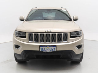2014 Jeep Grand Cherokee WK MY14 Laredo (4x2) Gold 8 Speed Automatic Wagon.