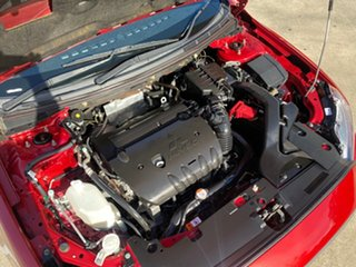 2014 Mitsubishi Lancer CJ MY14 LX Red 5 Speed Manual Sedan