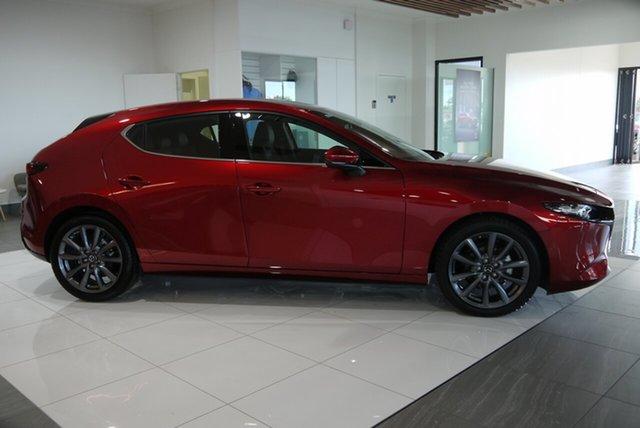 Demo Mazda 3 BP2H7A G20 SKYACTIV-Drive Touring Bundaberg, 2021 Mazda 3 BP2H7A G20 SKYACTIV-Drive Touring Red 6 Speed Sports Automatic Hatchback