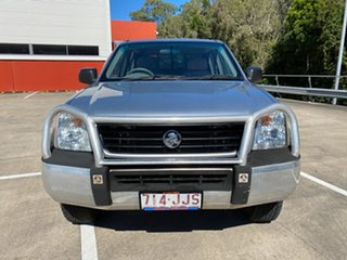 2006 Holden Rodeo LX Silver 5 Speed Manual Dual Cab