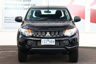 2018 Mitsubishi Triton MQ MY18 GLX+ Club Cab Black 5 Speed Sports Automatic Utility.