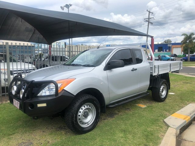 Used Mazda BT-50 MY13 XT (4x4) Toowoomba, 2014 Mazda BT-50 MY13 XT (4x4) Silver 6 Speed Manual Freestyle Cab Chassis
