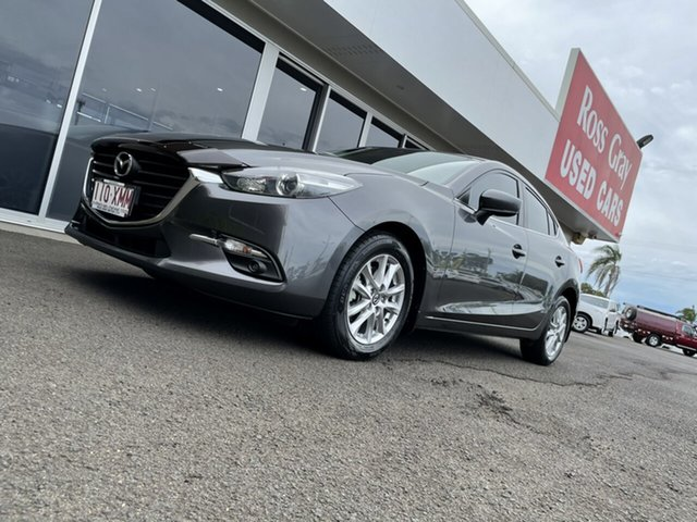 Used Mazda 3 BN5278 Maxx SKYACTIV-Drive Bundaberg, 2017 Mazda 3 BN5278 Maxx SKYACTIV-Drive Grey 6 Speed Sports Automatic Sedan