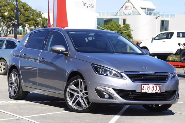 Pre-Owned Peugeot 308 T9 Allure Premium Albion, 2015 Peugeot 308 T9 Allure Premium Grey 6 Speed Sports Automatic Hatchback