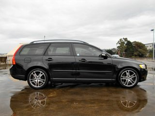 2010 Volvo V50 MY10 S Black 5 Speed Sports Automatic Wagon.