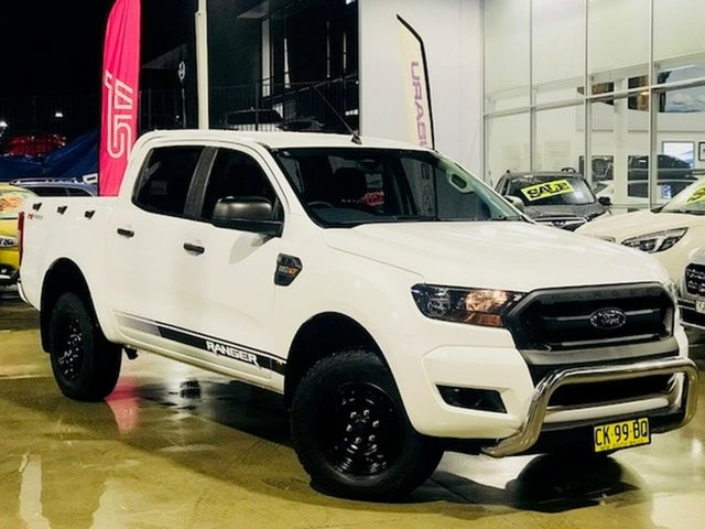 Used Ford Ranger PX MkII XL Hi-Rider Liverpool, 2016 Ford Ranger PX MkII XL Hi-Rider White 6 Speed Sports Automatic Utility