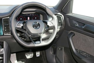 2020 Skoda Kodiaq NS MY21 132TSI DSG Sportline Moon White 7 Speed Sports Automatic Dual Clutch Wagon