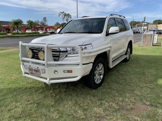 2016 Toyota Landcruiser VDJ200R MY16 Sahara (4x4) White 6 Speed Automatic Wagon