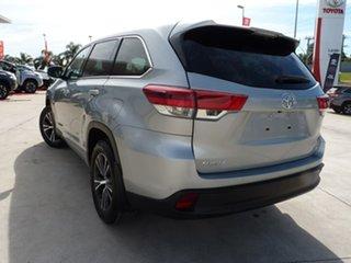 2019 Toyota Kluger GSU55R GX AWD Silver Pearl 8 Speed Sports Automatic Wagon.