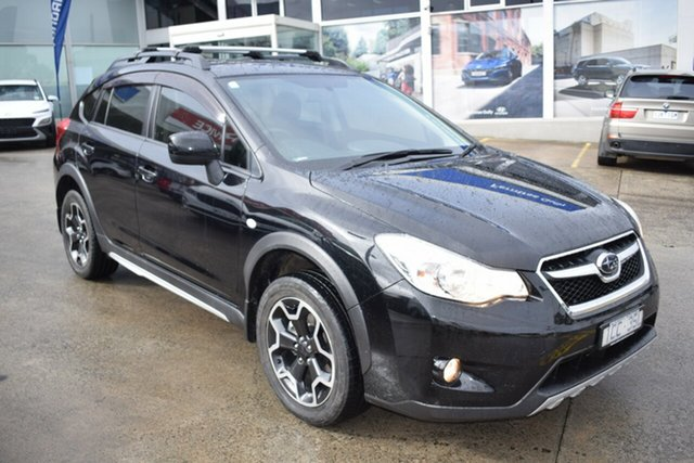 Used Subaru XV G4X MY14 FX Lineartronic AWD Ferntree Gully, 2014 Subaru XV G4X MY14 FX Lineartronic AWD Black 6 Speed Constant Variable Wagon
