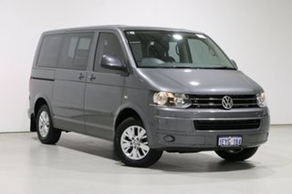 2015 Volkswagen Multivan T5 MY15 Comfortline TDI340 Grey 7 Speed Auto Direct Shift Wagon.
