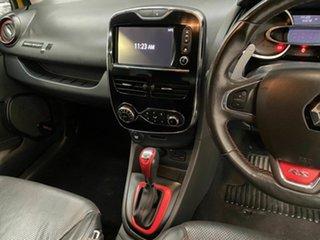 2014 Renault Clio IV B98 R.S. 200 EDC Sport Premium Yellow 6 Speed Sports Automatic Dual Clutch