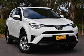2016 Toyota RAV4 ASA44R GX AWD White 6 Speed Sports Automatic Wagon.