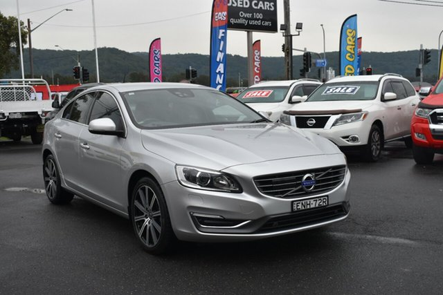 Used Volvo S60 F Series MY14 T5 Geartronic R-Design Gosford, 2014 Volvo S60 F Series MY14 T5 Geartronic R-Design Silver 8 Speed Sports Automatic Sedan