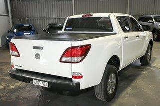 2016 Mazda BT-50 UR0YF1 XT 4x2 Hi-Rider White 6 Speed Manual Utility