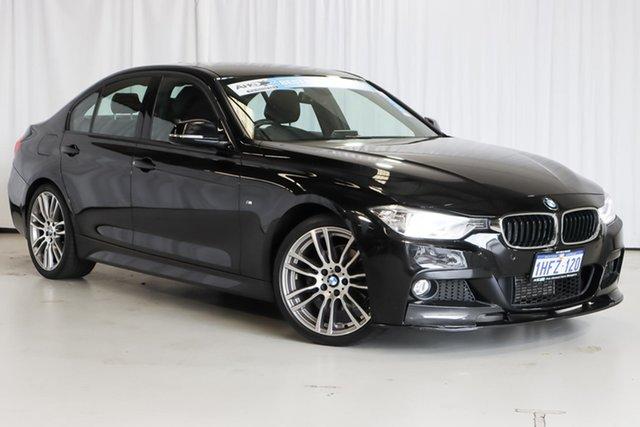 Used BMW 3 Series F30 MY1114 320d M Sport Wangara, 2015 BMW 3 Series F30 MY1114 320d M Sport Black 8 Speed Sports Automatic Sedan