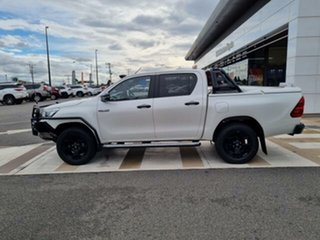 2018 Toyota Hilux GUN126R Rogue Double Cab Crystal Pearl 6 Speed Sports Automatic Utility