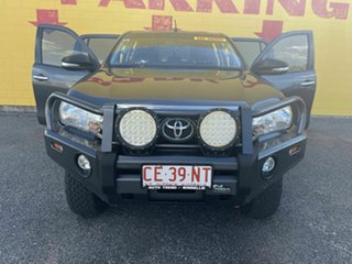 2016 Toyota Hilux GUN126R SR Double Cab Charcoal 6 Speed Manual Utility.