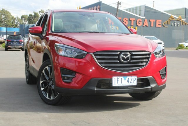 Used Mazda CX-5 MY15 Akera (4x4) West Footscray, 2015 Mazda CX-5 MY15 Akera (4x4) 6 Speed Automatic Wagon
