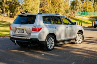 2012 Toyota Kluger GSU40R MY11 Upgrade Grande (FWD) Silver 5 Speed Automatic Wagon.