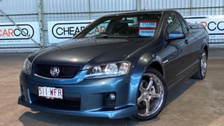 2008 Holden Ute VE SV6 60th Anniversary Grey 6 Speed Manual Utility.