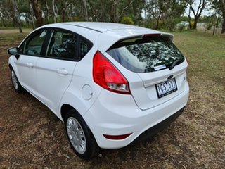 2014 Ford Fiesta WZ Ambiente Arctic White 5 Speed Manual Hatchback