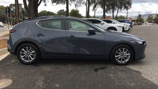 2021 Mazda 3 BP2H7A G20 SKYACTIV-Drive Pure Polymetal Grey 6 Speed Sports Automatic Hatchback.