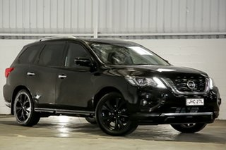 2017 Nissan Pathfinder R52 Series II MY17 Ti X-tronic 4WD Black 1 Speed Constant Variable Wagon.