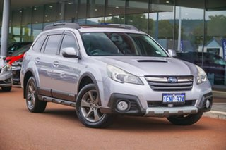 2014 Subaru Outback B5A MY14 2.0D Lineartronic AWD Premium Silver 7 Speed Constant Variable Wagon.