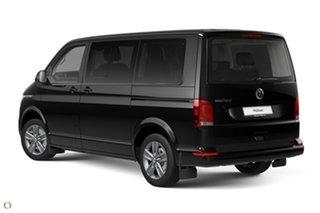 2021 Volkswagen Multivan T6.1 MY21 TDI340 SWB DSG Comfortline Premium Black 7 Speed.