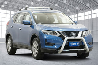 2018 Nissan X-Trail T32 Series II ST X-tronic 4WD Blue 7 Speed Constant Variable Wagon.