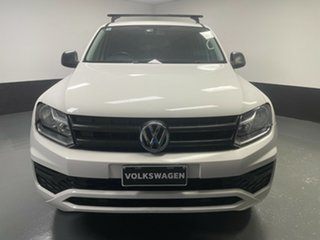 2017 Volkswagen Amarok 2H MY18 TDI400 4MOT Core Candy White 6 Speed Manual Utility.