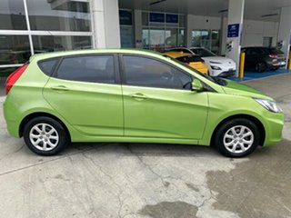 2014 Hyundai Accent RB2 MY15 Active Green 4 Speed Sports Automatic Sedan