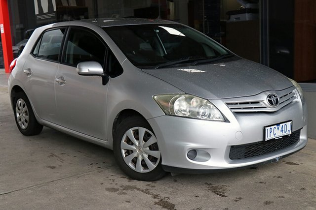 Pre-Owned Toyota Corolla ZRE152R MY11 Ascent Preston, 2011 Toyota Corolla ZRE152R MY11 Ascent Silver 4 Speed Automatic Hatchback
