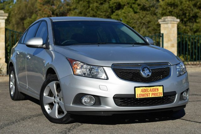 Used Holden Cruze JH Series II MY14 Equipe Enfield, 2014 Holden Cruze JH Series II MY14 Equipe Silver 6 Speed Sports Automatic Sedan