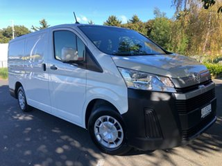 2020 Toyota HiAce GDH300R LWB White 6 Speed Sports Automatic Van.