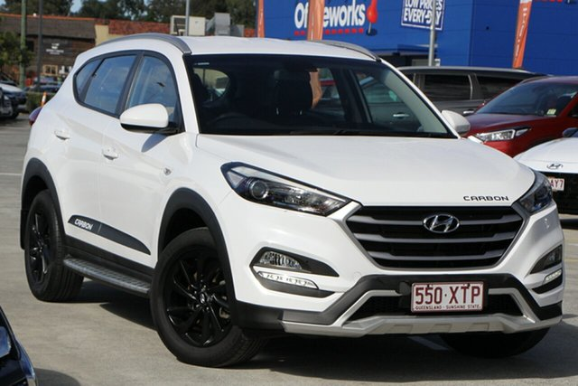 Used Hyundai Tucson TL MY17 Active X 2WD Aspley, 2017 Hyundai Tucson TL MY17 Active X 2WD White 6 Speed Manual Wagon