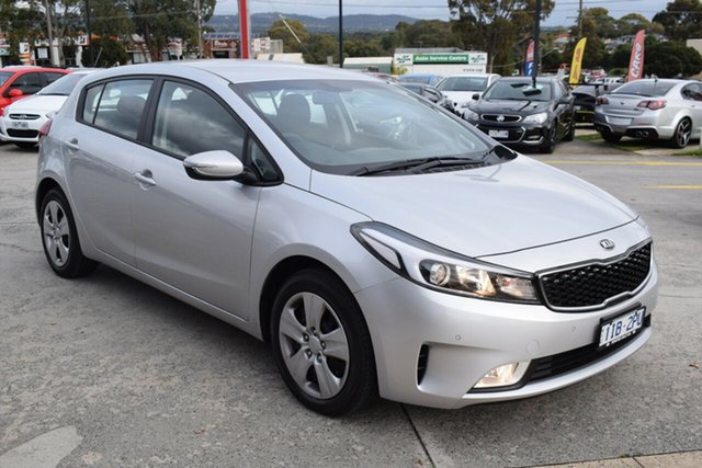 Used Kia Cerato YD MY18 S Ferntree Gully, 2018 Kia Cerato YD MY18 S Silver 6 Speed Sports Automatic Hatchback