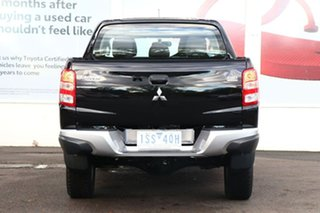 2018 Mitsubishi Triton MQ MY18 GLX+ Club Cab Black 5 Speed Sports Automatic Utility
