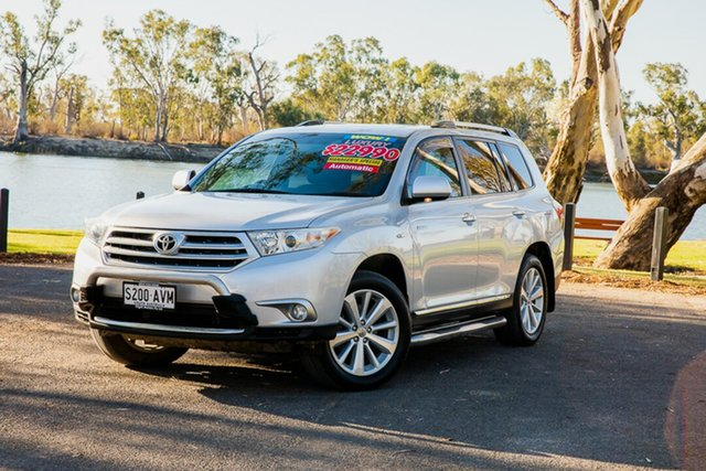 Used Toyota Kluger GSU40R MY11 Upgrade Grande (FWD) Loxton, 2012 Toyota Kluger GSU40R MY11 Upgrade Grande (FWD) Silver 5 Speed Automatic Wagon
