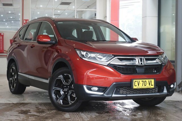 Used Honda CR-V RW MY20 VTi-S 4WD Parramatta, 2019 Honda CR-V RW MY20 VTi-S 4WD Red 1 Speed Constant Variable Wagon
