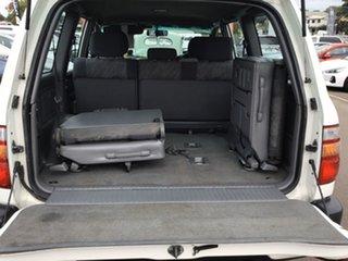 2001 Toyota Landcruiser HZJ105R RV White 5 Speed Manual Wagon