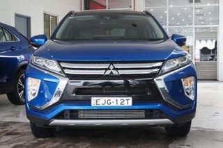 2018 Mitsubishi Eclipse Cross YA MY18 Exceed 2WD Lightning Blue 8 Speed Constant Variable Wagon